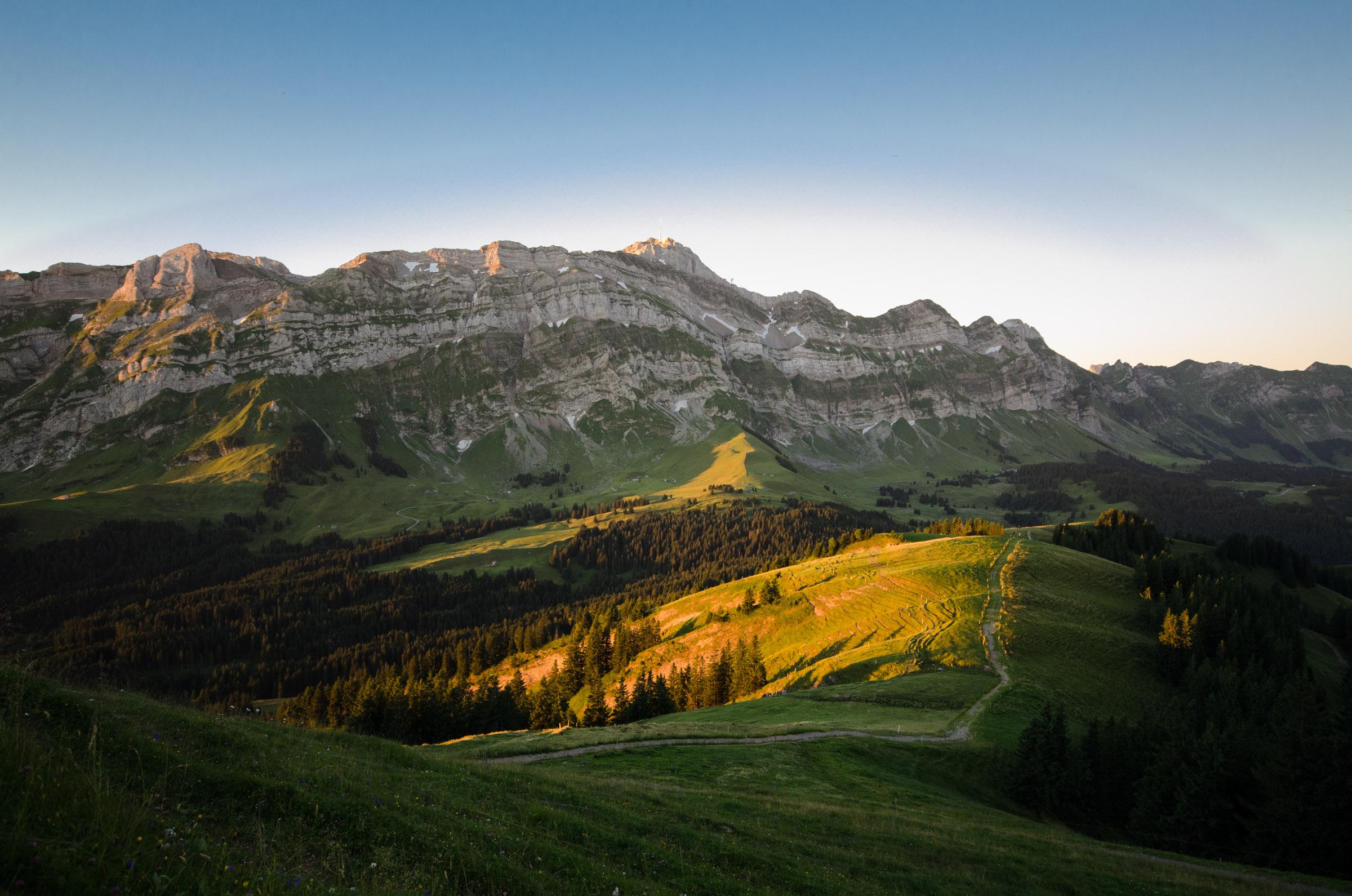 Kronberg und Säntis im Alpstein › Timo Kellenberger Fotografie