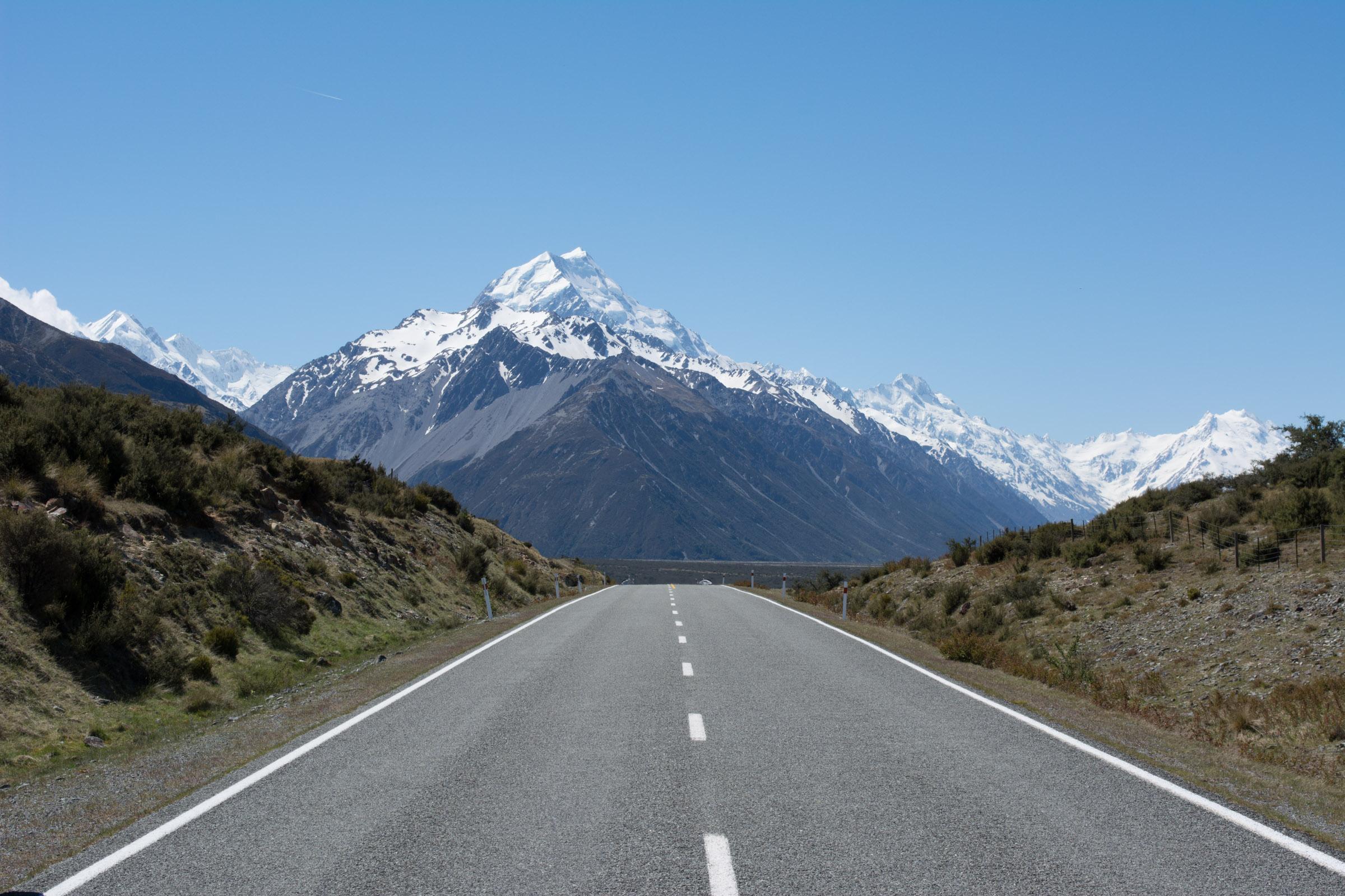 Neuseeland Mount Cook