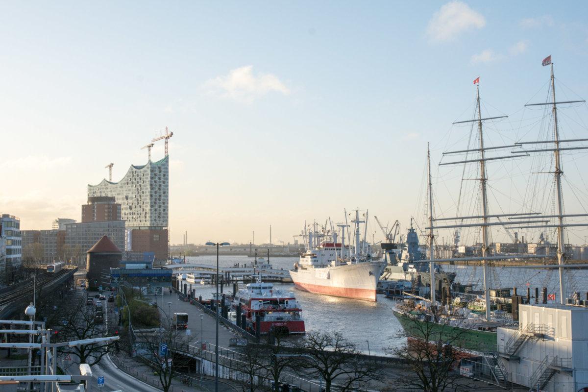 Hamburg Elbphilhalmonie Hafen