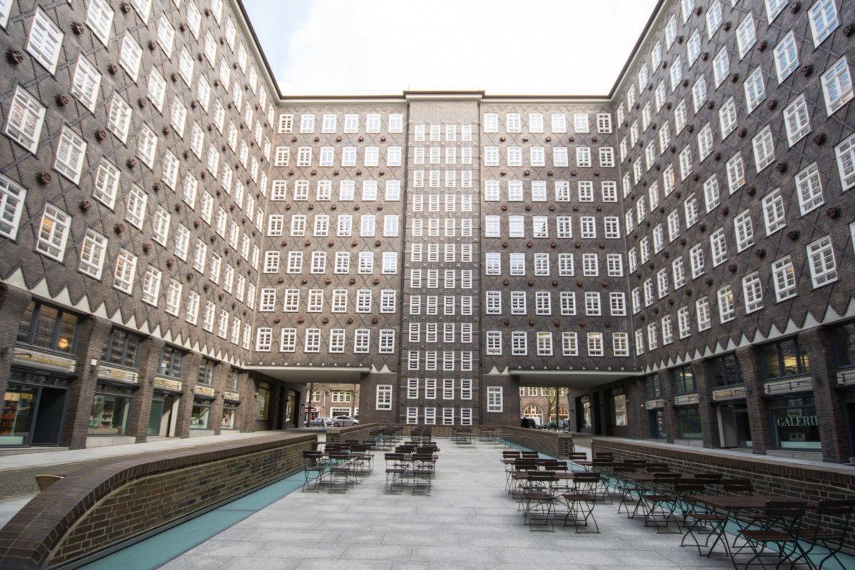 Hamburg Innenhof