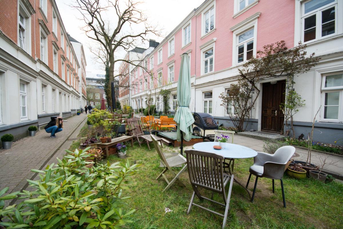 Hamburg Terassenhäuser
